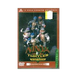 DVD NINJA TURTLES VOL.2