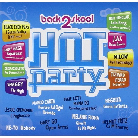 CD HOT PARTY-BACK 2 SKOOL