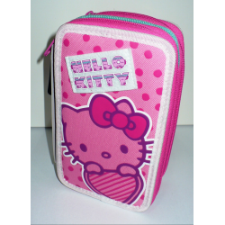 ASTUCCIO 3 ZIP HELLO KITTY