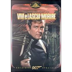 DVD 007 VIVI E LASCIA MORIRE