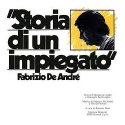 LP FABRIZIO DE ANDRE' STORIA DI UN IMPIEGATO