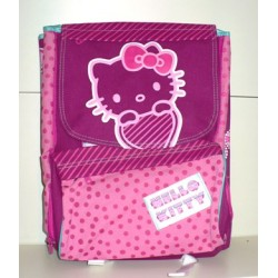 ZAINO SCOLASTICO ESTENSIBILE HELLO KITTY
