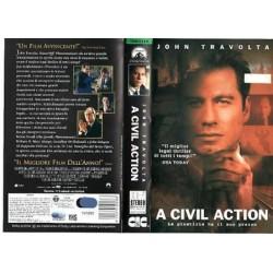VHS A CIVIL ACTION LA GIUSTIZIA HA IL SUO PREZZO