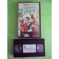VHS 4 BASSOTTI PER UN DANESE