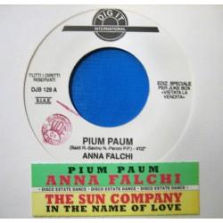 LP 45 GIRI ANNA FALCHI-THE SUN COMPANY