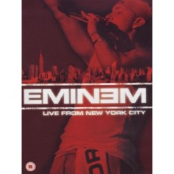DVD EMINEM - LIVE FROM NEW YORK CITY