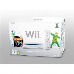 CONSOLE WII BLANCHE NINTENDO WIIMOTE PLUS JUST DANCE 2