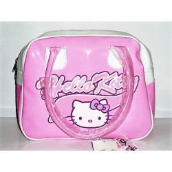BAULETTO IN ECOPELLE ROSA HELLO KITTY
