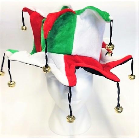 CAPPELLO JOLLY TRICOLORE ITALIA