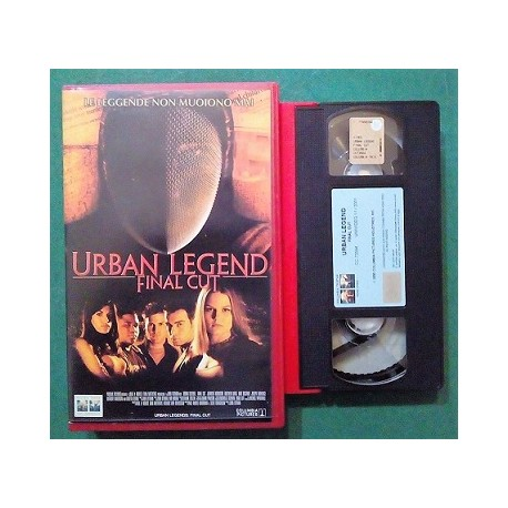 VHS URBAN LEGEND FINAL CUT