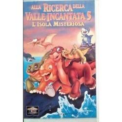 VHS ALLA RICERCA DELLA VALLE INCANTATA 5 - L'ISOLA MISTERIOSA