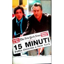 VHS 15 MINUTI FOLLIA OMICIDA A NEW YORK