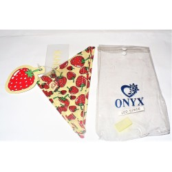 BANDANA TRIANGOLO ONYX FRUIT COLLECTION