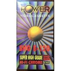 POWER VIDEOCASSETTA SHG E-120 SIGILLATA