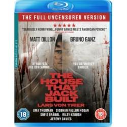 """DVD BLU RAY """" THE HOUSE THAT JACK BUILT """" VM.18"""