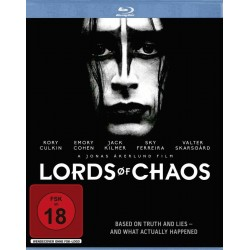 """DVD BLU RAY """" LORDS OF CHAOS """" fsk 18"""