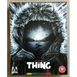DVD THE THING * OOP LIMITED COLLECTORS EDITION BLU RAY * JOHN CARPENTER * BN * ARROW