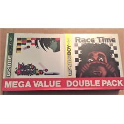 Game Boy Rocket Games Pocket Smash Out & Race Time Rare Gameboy COLOR NUOVO
