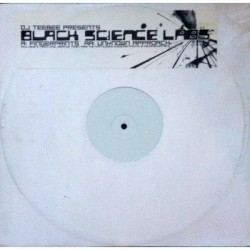 LP Dj Teebee presents black science labs 12""