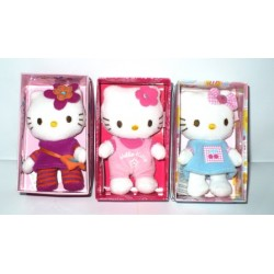 PELUCHE IN SCATOLA HELLO KITTY