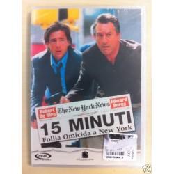 DVD 15 MINUTI FOLLIA OMICIDA A NEW YORK