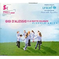 CD GIGI D'ALESSIO E LE MATITE COLORATE-PICCOLO AMICO