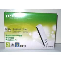 ADATTATORE DI RETE USB TP-LINK WIRELESS PENNA WI FI USB 300M TL-WN821N