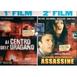 DVD AL CENTRO DELL'URAGANO/LA LEGIONE DELLE FORMICHE ASSASSINE-2 FILM 1 DVD