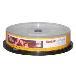 10 PZ. KODAK DVD+RW RESCRIVIBILI