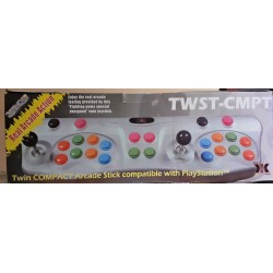 Joystick Twin arcade Playstation doppio Twin