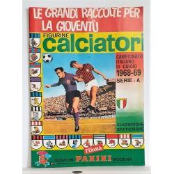 ALBUM CALCIATORI PANINI 1989/90 COVER BAGGIO RISTAMPA L'UNITA SERIE A