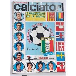Album CALCIATORI 1971-1972   , Ristampa L'Unita' , Figurine Panini Serie A