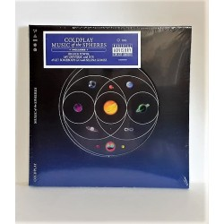 CD COLDPLAY - MUSIC OF THE SPHERES -