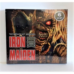 CD IRON MAIDEN - THE BROADCAST ARCHIVES - 6CD