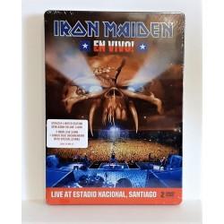 IRON MAIDEN - EN VIVO 2DVD BOX METAL MUSICALE