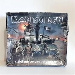 IRON MAIDEN-MATTER OF LIFE & DEATH (DLX) (FIG) (LTD) (PATC) CD