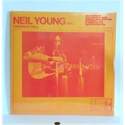 LP NEIL YOUNG - CARNEGIE HALL 1970 - 2 VINYL LPs -